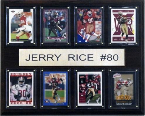 "San Francisco 49ers Jerry Rice 12"" x 15"" Card Plaque"