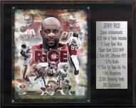 "San Francisco 49ers Jerry Rice 12"" x 15"" Career Stat Plaque"