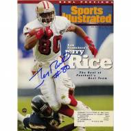 San Francisco 49ers Jerry Rice Signed 12/26/94 Sports Illustrated Magazine