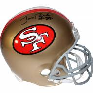 San Francisco 49ers Jerry Rice Signed Full Size Replica Helmet