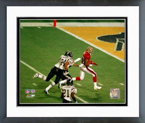 San Francisco 49ers Jerry Rice SuperBowl XXIX Action Framed Photo