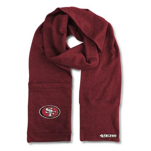 San Francisco 49ers Jimmy Bean 4-in-1 Scarf