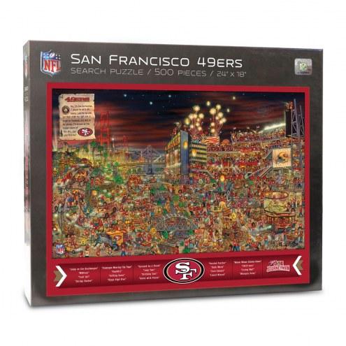 San Francisco 49ers Joe Journeyman Puzzle