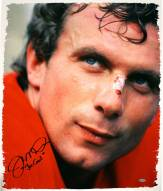 San Francisco 49ers Joe Montana Signed Close Up 22 x 26 Canvas w/ Joe Cool