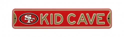 San Francisco 49ers Kid Cave Street Sign