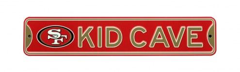 San Francisco 49ers Kid Cave Street Sign