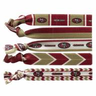 San Francisco 49ers Knotted Hair Tie