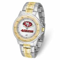 San Francisco 49ers Competitor Two-Tone Men's Watch
