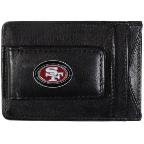 San Francisco 49ers Leather Cash & Cardholder