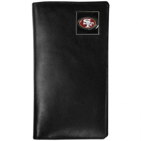 San Francisco 49ers Leather Tall Wallet