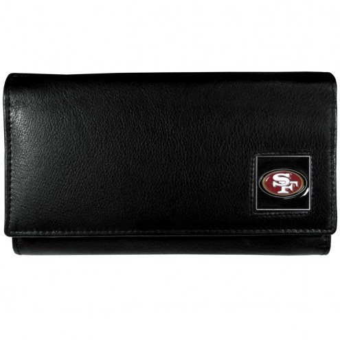 San Francisco 49ers Leather Women's Wallet