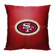 San Francisco 49ers Letterman Pillow