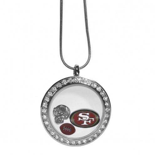 San Francisco 49ers Locket Necklace