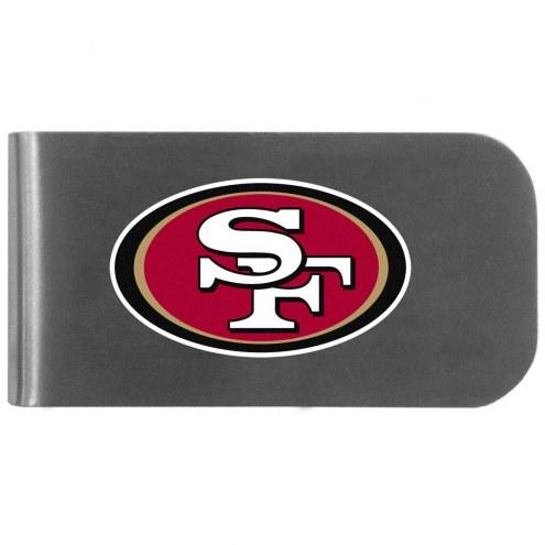 San Francisco 49ers Logo Bottle Opener Money Clip