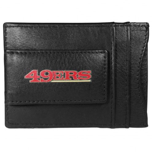 San Francisco 49ers Logo Leather Cash and Cardholder