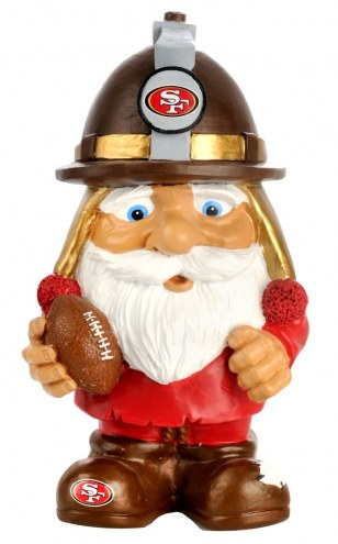 San Francisco 49ers Mad Hatter Garden Gnome