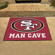 San Francisco 49ers Man Cave All-Star Rug