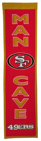 San Francisco 49ers Man Cave Banner