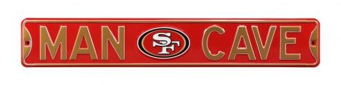 San Francisco 49ers Man Cave Street Sign