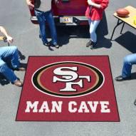 San Francisco 49ers Man Cave Tailgate Mat