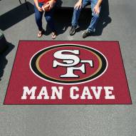 San Francisco 49ers Man Cave Ulti-Mat Rug