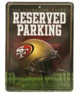 San Francisco 49ers Metal Parking Sign