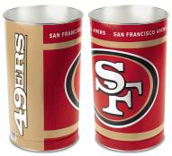 San Francisco 49ers Metal Wastebasket