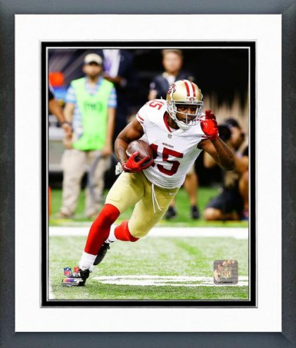 San Francisco 49ers Michael Crabtree Action Framed Photo