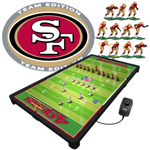 San Francisco 49ers NFL Deluxe Electric Football Game