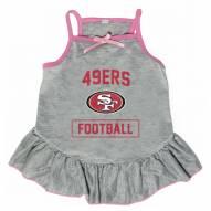 San Francisco 49ers NFL Gray Dog Dress