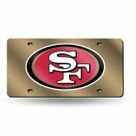 San Francisco 49ers NFL Laser Cut License Plate