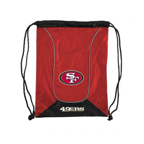 San Francisco 49ers Doubleheader Drawstring Bag