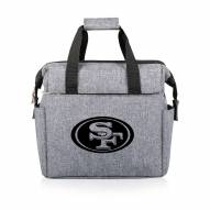 San Francisco 49ers On The Go Lunch Cooler