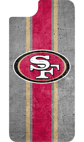 San Francisco 49ers OtterBox iPhone 8/7/6s/6 Alpha Glass Screen Protector