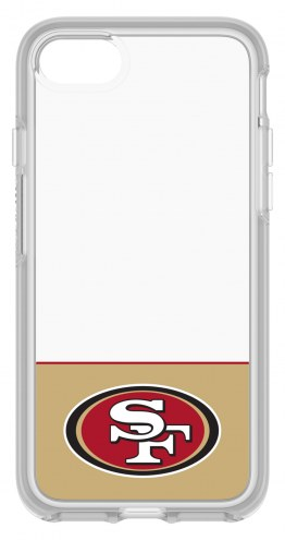 San Francisco 49ers OtterBox iPhone 8/7 Symmetry Clear Case