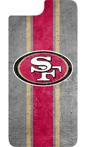 San Francisco 49ers OtterBox iPhone 8 Plus/7 Plus/6s Plus/6 Plus Alpha Glass Screen Protector