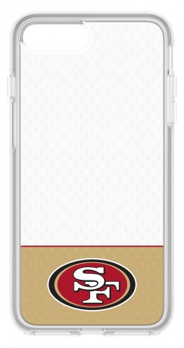San Francisco 49ers OtterBox iPhone 8 Plus/7 Plus Symmetry Clear Case