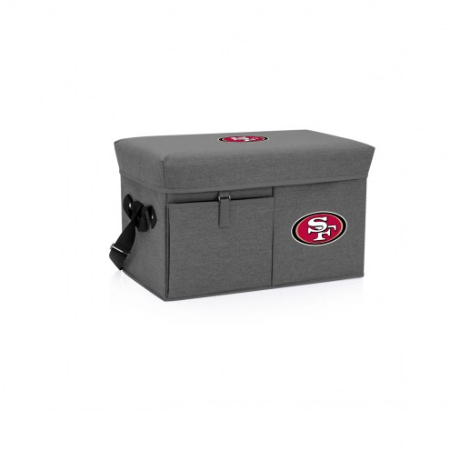 San Francisco 49ers Ottoman Cooler & Seat