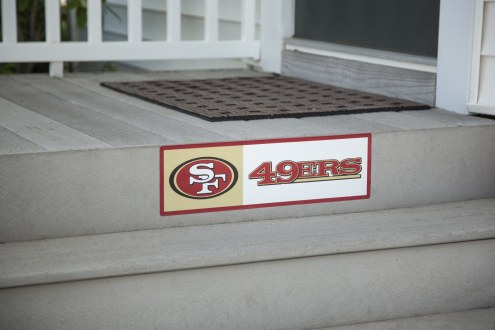 San Francisco 49ers Outdoor Step Graphic