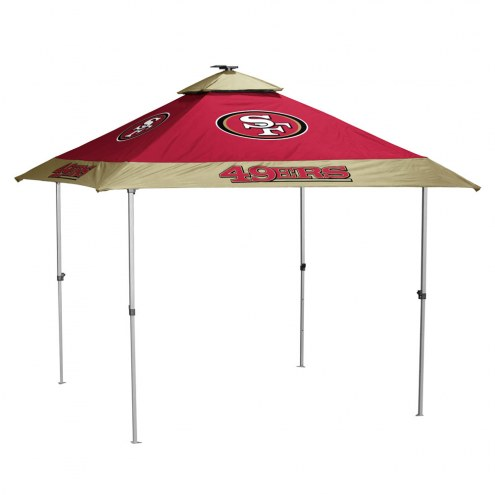 San Francisco 49ers Pagoda Tent with Lights