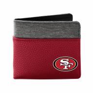 San Francisco 49ers Pebble Bi-Fold Wallet