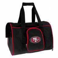 San Francisco 49ers Premium Pet Carrier Bag