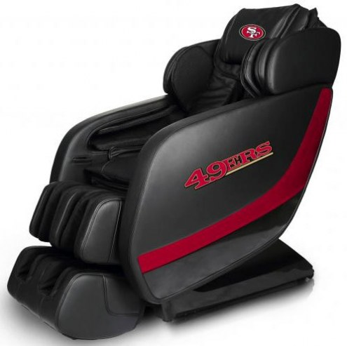 San Francisco 49ers Professional 3D Massage Chair