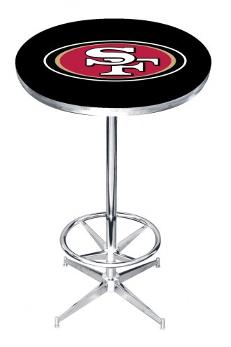 San Francisco 49ers Pub Table