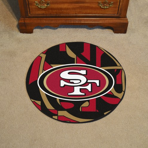 San Francisco 49ers Quicksnap Rounded Mat
