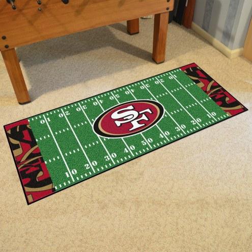 San Francisco 49ers Quicksnap Runner Rug