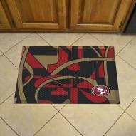 San Francisco 49ers Quicksnap Scraper Door Mat