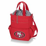 San Francisco 49ers Red Activo Cooler Tote