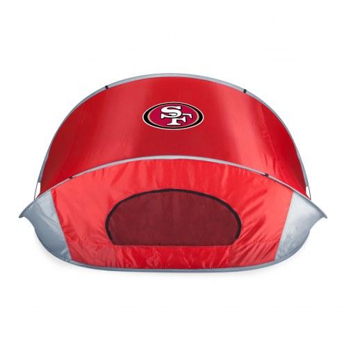 San Francisco 49ers Red Manta Sun Shelter