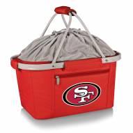 San Francisco 49ers Red Metro Picnic Basket